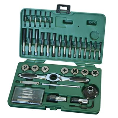 世达工具SATA40件高速钢粗牙丝锥板牙组套50451