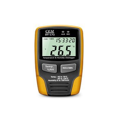 CEM华盛昌 温湿度数据记录仪 DT-172