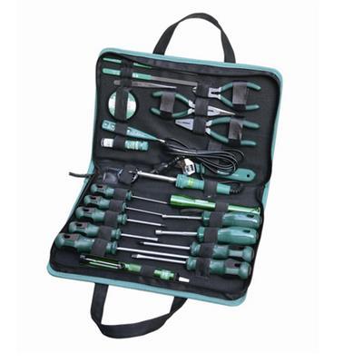 世达工具SATA23件基本电工维修组套03780