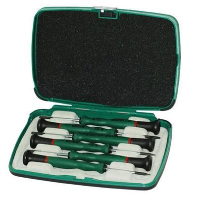 世达工具SATA6件一字、十字微型螺丝批组套09312