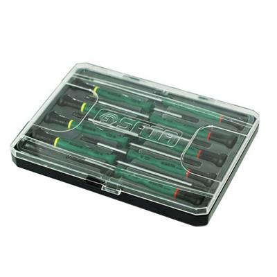世达工具SATA9件一字、十字微型螺丝批组套09316