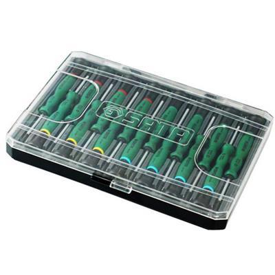 世达工具SATA15件综合微型螺丝批组套09317