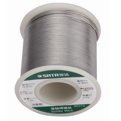 世达工具SATA卷轴焊锡丝0.5MM/250克90311