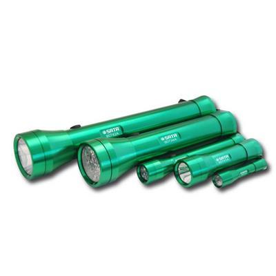 世达工具SATA铝合金手电筒2节1号电池90734A