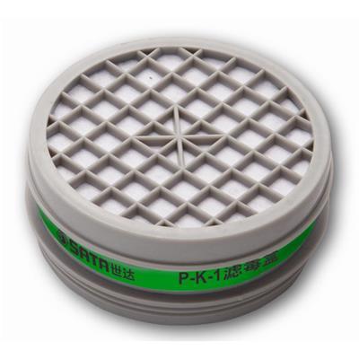 世达工具SATAP-K-1滤毒盒-防氨,硫化氢FH0503