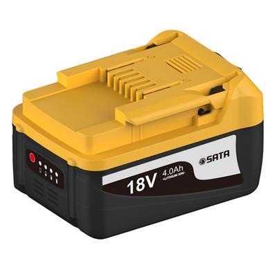 世达工具SATA18 V 锂电池 4.0AH51512