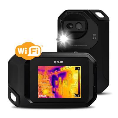 美国菲力尔 fLIR 功能强大的便携式红外热像仪紧凑型红外热像仪(带WiFi功能)FLIR C3