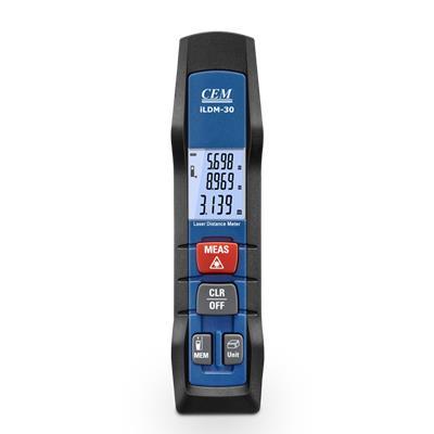 CEM华盛昌 Mini版智能量房激光测距仪 LDM-30/iLDM-30