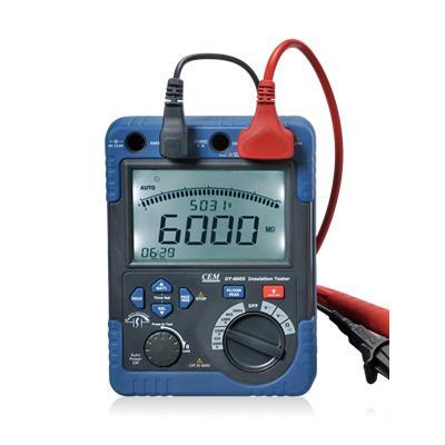 CEM华盛昌 专业高压绝缘电阻测试仪 DT-6605