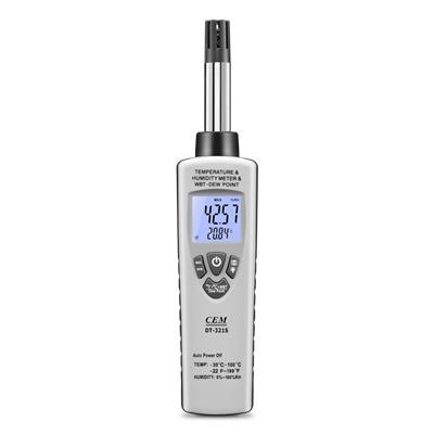 CEM华盛昌 专业型温湿度测量仪 DT-321S