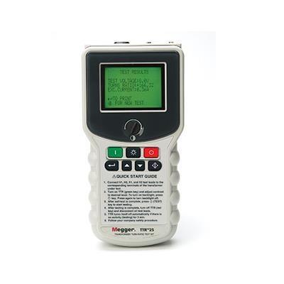 美国MEGGER 手持式变压器匝数比测试仪 TTR25-1