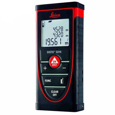 徕卡D210手持激光测距仪室内室外80米测量仪电子尺防水防摔