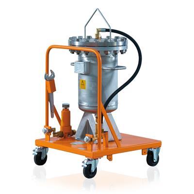 德国DILO公司 B148R03型移动式SF6气体预过滤单元 DN20 (Pe 16 bar)
