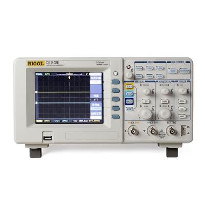 RIGOL普源示波器 DS1102E 数字示波器 100M 双通道