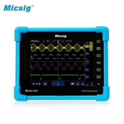 麦科信 平板示波器TO1104 四通道100MHz带宽 TO1104 100M+4CH+探头含电池