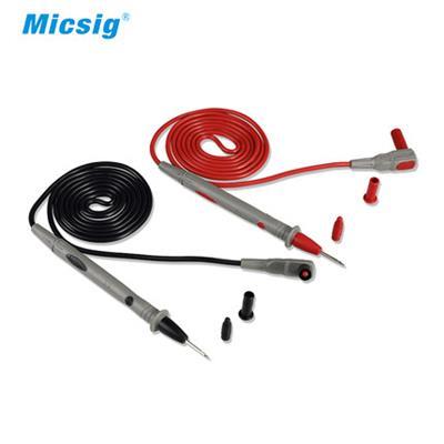 Micsig麦科信 万用表表线 硅胶表线 三用表测试表笔 示波器