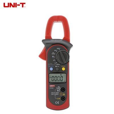 优利德数字钳形万用表 钳形表UT204A可测交直流电流