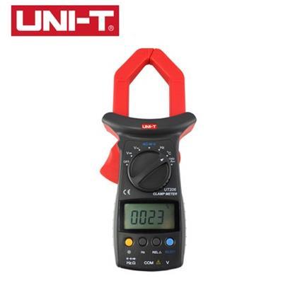 优利德UT206数字钳形万用表自动量程测温电流万能表电流表