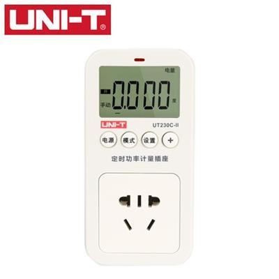 优利德UT230C-II多功能功率计量插座电力监测仪测量仪