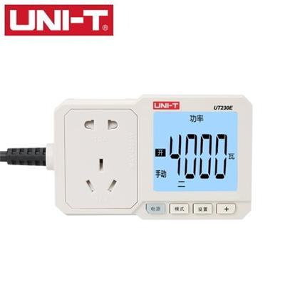 优利德UT230E电量功率计量插座功率计10A/16A电表电度表检测计