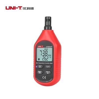 优利德电子温湿度计UT333BT工业级湿度仪高精度室内温/湿/度表计