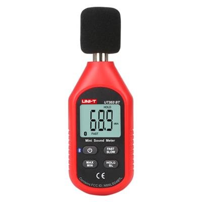 优利德UT353BT噪音计分贝仪噪声测试仪高精度检测仪声级计噪音仪
