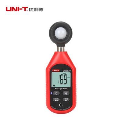 优利德UT383BT数字照度计测光仪高精度光照度计测光亮度仪