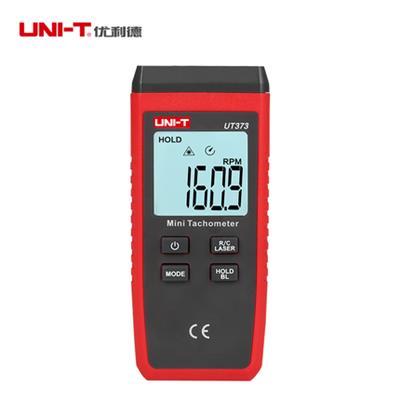 优利德转速表UT373数显转速测速仪高精度激光光电非接触式转速表