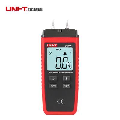 优利德UT377A木材水分测试仪 木材含水量检测 木材潮湿度测量仪