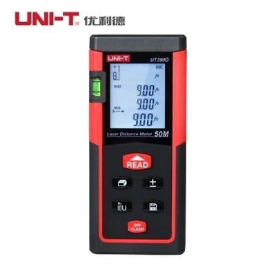 新品优利德UT390D(50米)测距仪 手持激光红外线 电子尺50米测量