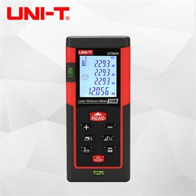 优利德手持式激光测距仪高精度红外线测距仪电子尺激光尺UT393A