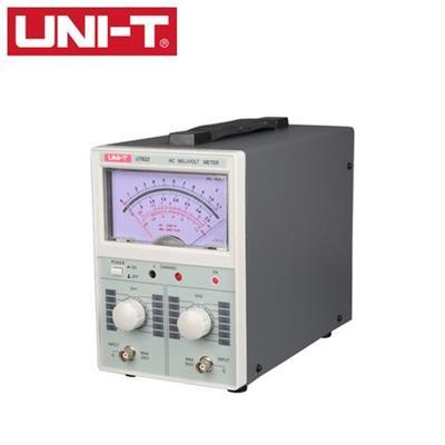 优利德UT622双通道高精度数字交流毫伏表双指针电压表频响