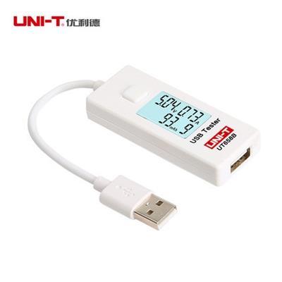 优利德USB测试仪UT658B电流容量测试仪手机充电器移动电源监测器