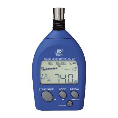 日本理音 rion 噪音計/分貝儀 NL-27 原裝正品 假一賠十