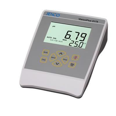 美国任氏jenco  台式pH ORP温度测试仪 6175