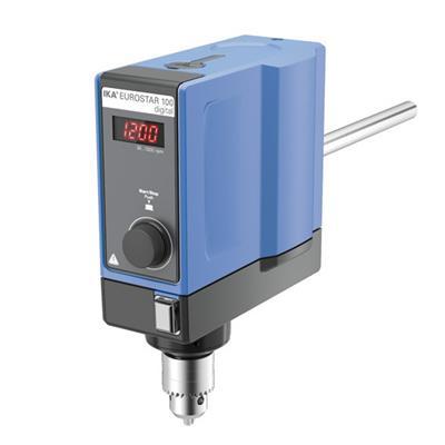 德国IKA 悬臂搅拌器EUROSTAR 100 digital订货号 0004238125