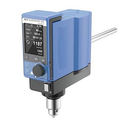 德国IKA 悬臂搅拌器EUROSTAR 100 control订货号 0004028525
