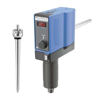 德国IKA 悬臂搅拌器EUROSTAR 20 high speed digital订货号 0004028625