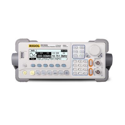 rigol普源信号发生器DG1000函数波形发生器DG1000 100 200MHz带宽四通道