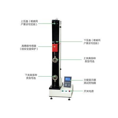 美特斯硅酮胶拉伸粘结力强度试验机WDS-01
