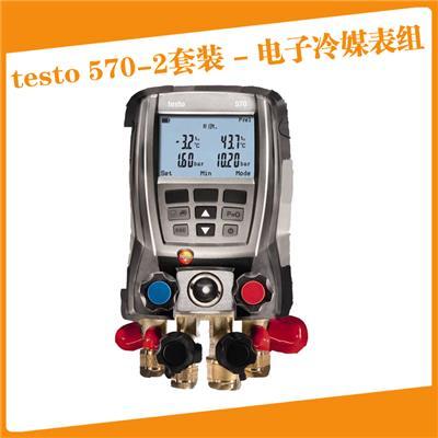 德图testo570-2套装 - 专业级电子冷媒表组