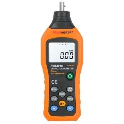 华谊PM6208A转速表 数显 转速测速仪 高精度 非接触式转速计