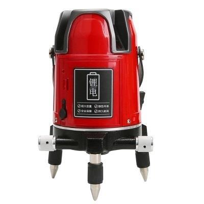 优利德LM530红光激光水平仪3线红光标线仪
