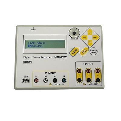日本万用 MPR-601W 数字功率纪录仪