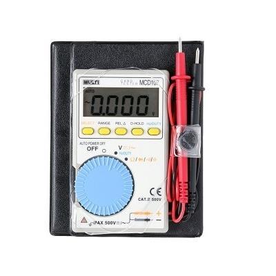 日本万用 MCD-107 袖珍数字多功能电表