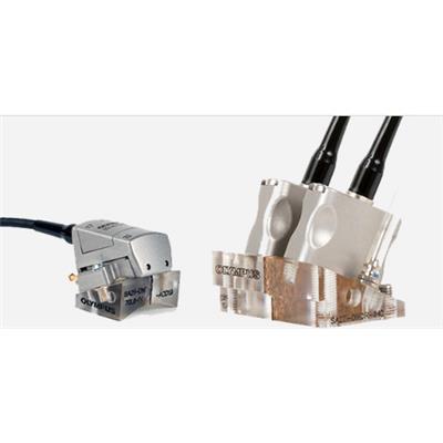 奥林巴斯olympus 用于检测焊缝的双晶阵列探头