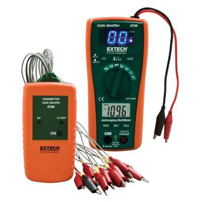 艾示科EXTECH CT40 电缆标识符/测试仪套件