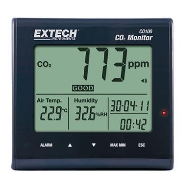 艾示科Extech CO100 台式室内空气质量二氧化碳检测仪