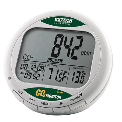 艾示科Extech CO200  台式室内空气质量CO 2