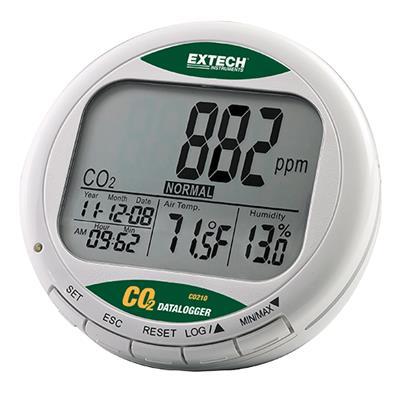 艾示科 Extech CO210  台式室内空气质量CO 2